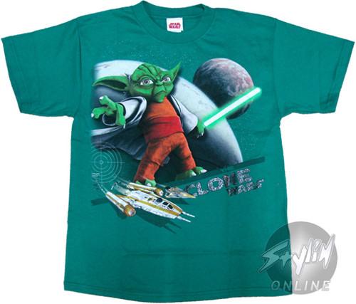 Star Wars Clone Yoda Youth T-Shirt