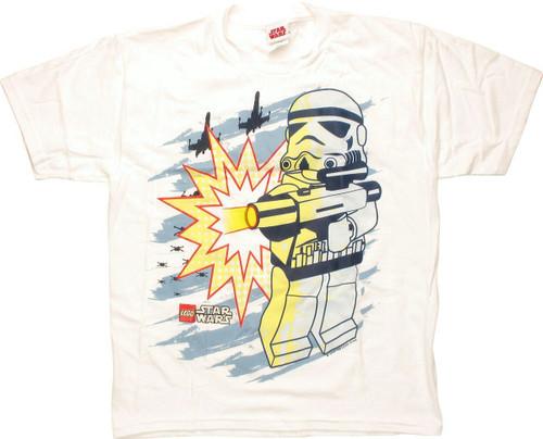 Star Wars Lego Shoot Youth T-Shirt