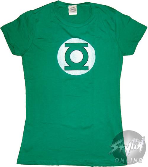 Green Lantern Vintage Baby Tee