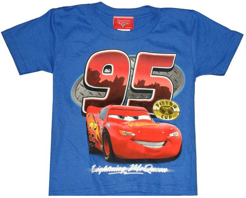 Cars Lightning McQueen Piston Cup Juvenile T-Shirt
