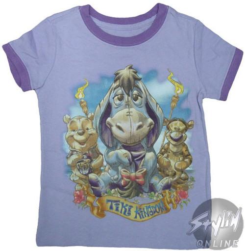 Winnie the Pooh Eeyore Girls T-Shirt