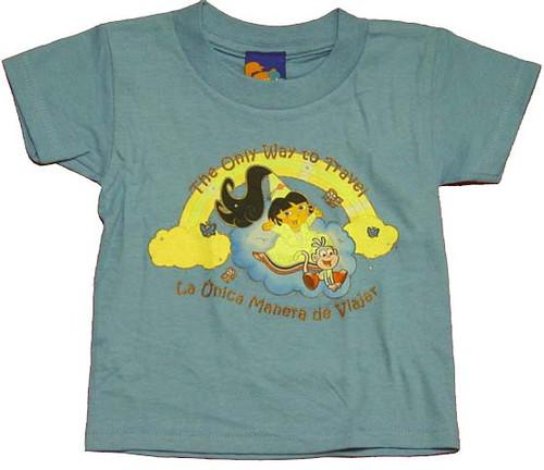 Dora the Explorer Travel Toddler T-Shirt