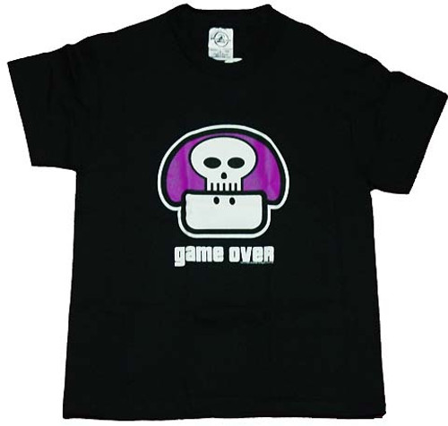 Nintendo Game Over Youth Shirt