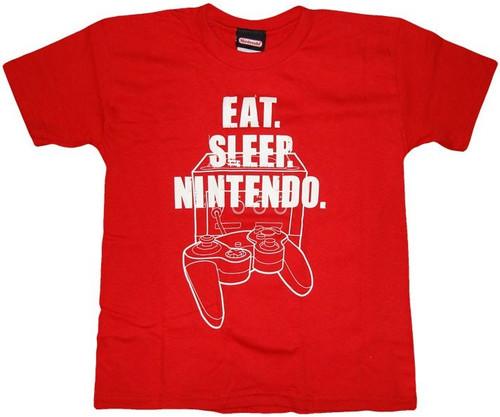 Nintendo Eat Sleep Youth T-Shirt
