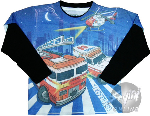 Tonka Trucks Long Sleeve Juvenile T-Shirt