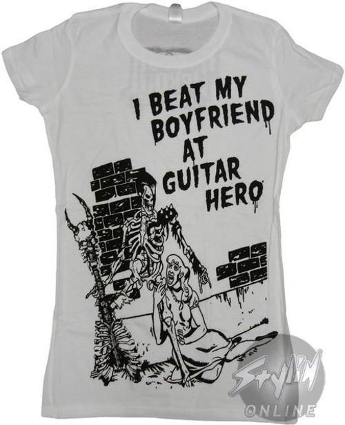 Guitar Hero Beat Boyfriend Baby Tee