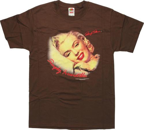 Marilyn Monroe Pillow T-Shirt
