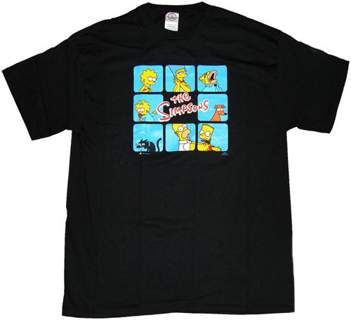 Simpsons Box T-Shirt