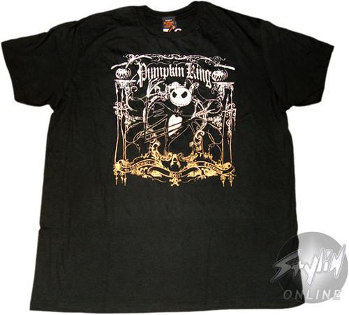 Nightmare Before Christmas Pumpkin King T-Shirt Sheer