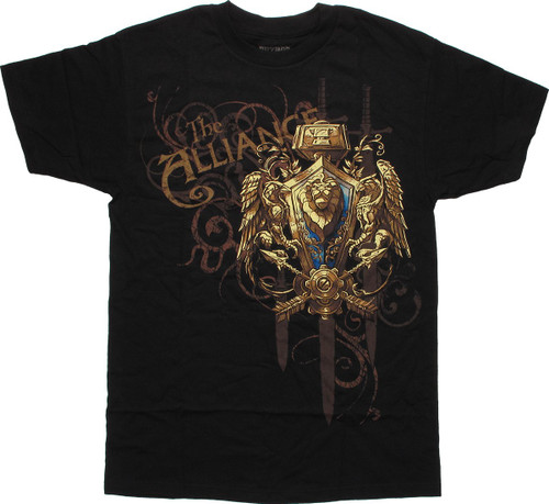 World of Warcraft Alliance Swords T-Shirt