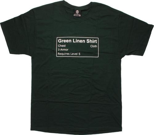 World of Warcraft Linen T-Shirt