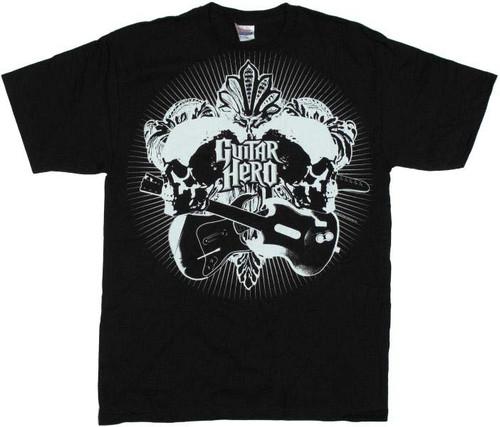 Guitar Hero Leaves T-Shirt