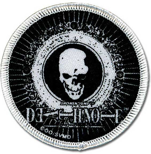 Death Note Skull Patch