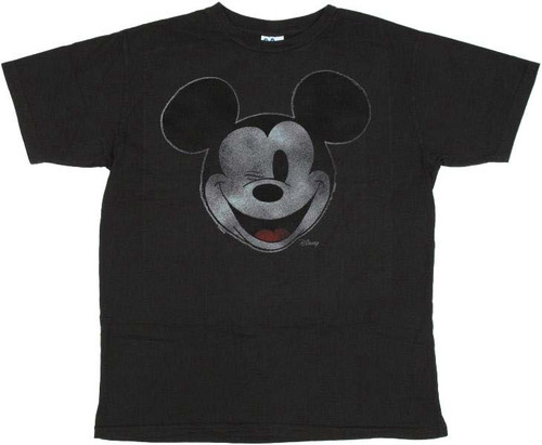 Mickey Mouse Wink Junk Food T-Shirt