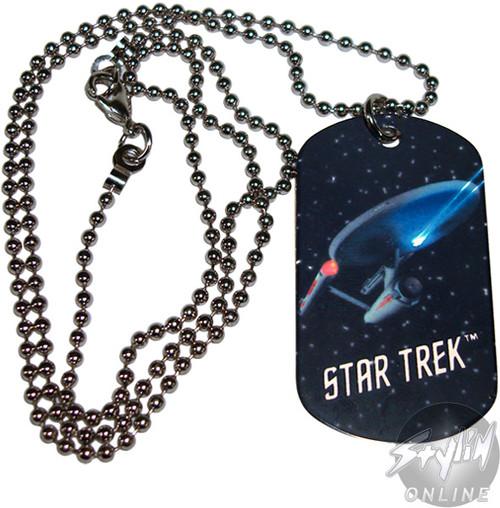 Star Trek Enterprise Dog Tag