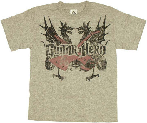 Guitar Hero Dual Dragons Youth T-Shirt