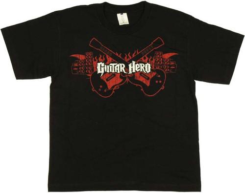 Guitar Hero Flame Youth T-Shirt