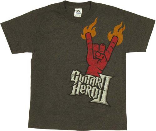 Guitar Hero Horns Youth T-Shirt