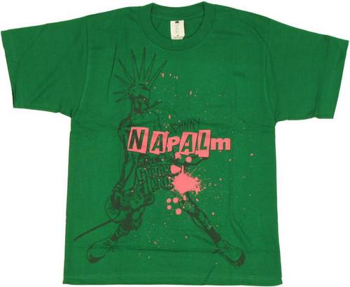 Guitar Hero Johnny Splatter Youth T-Shirt
