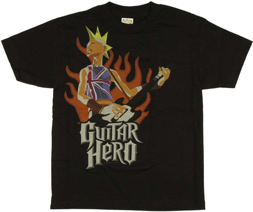 Guitar Hero Johnny Flame Youth T-Shirt