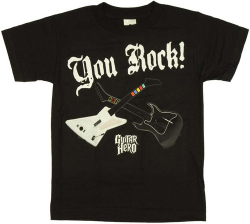Guitar Hero You Rock Guitars Youth T-Shirt