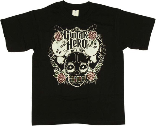 Guitar Hero Teeth Youth T-Shirt