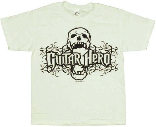 Guitar Hero Skull Youth T-Shirt