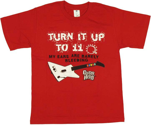 Guitar Hero Turn Up Youth T-Shirt