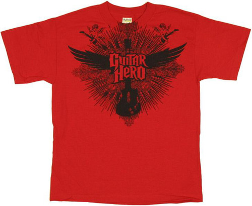 Guitar Hero Guitar Wings Youth T-Shirt