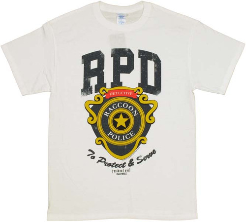 Resident Evil RPD Badge T-Shirt