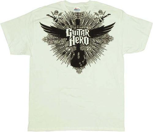 Guitar Hero Wings T-Shirt