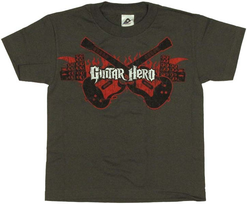 Guitar Hero Flames Youth T-Shirt