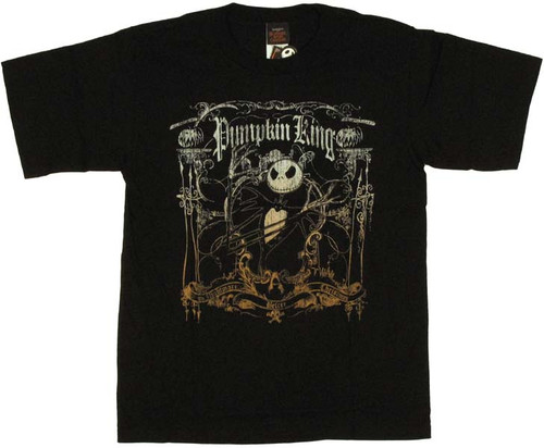 Nightmare Before Christmas Jack Youth T-Shirt