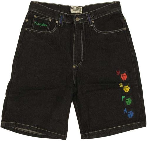 Scarface Icons Shorts