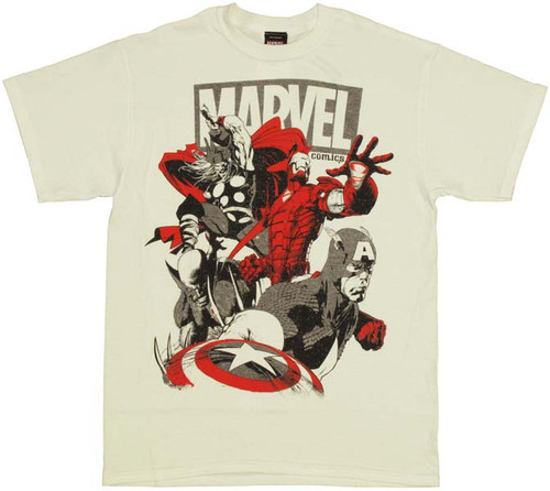 Marvel Team T-Shirt