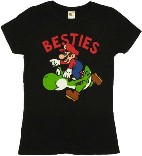 Nintendo Besties Yoshi Mario Baby Tee
