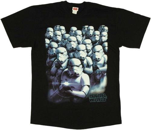 Star Wars Stormtrooper Stack T-Shirt