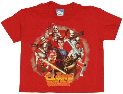 Star Wars Clone Wars Juvenile T-Shirt