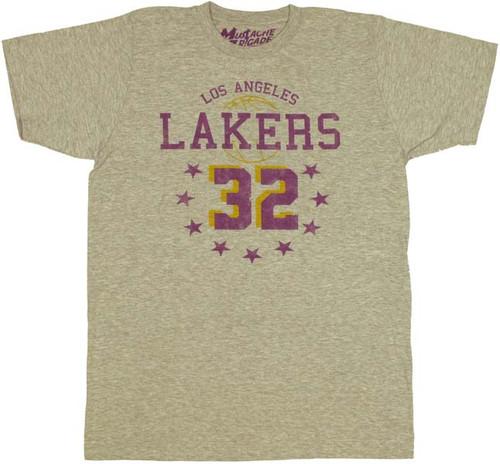 online store ff7ad 02f02 NBA Magic Johnson T-Shirt Sheer