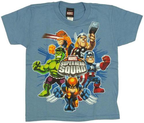 ad364209 Marvel Hero Squad Juvenile T-Shirt juvenile-t-shirt -marvel-hero-squad-blaster