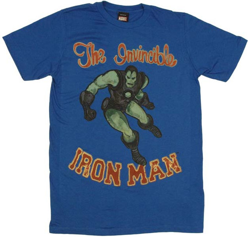Iron Man Invincible T-Shirt Sheer
