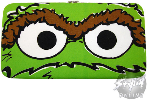 Sesame Street Oscar Clutch Wallet