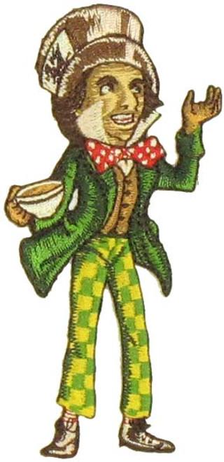 Alice in Wonderland Mad Hatter Patch
