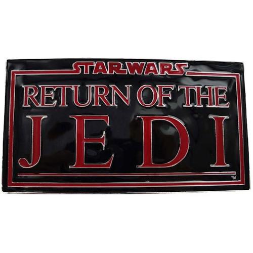 Star Wars Return Jedi Belt Buckle