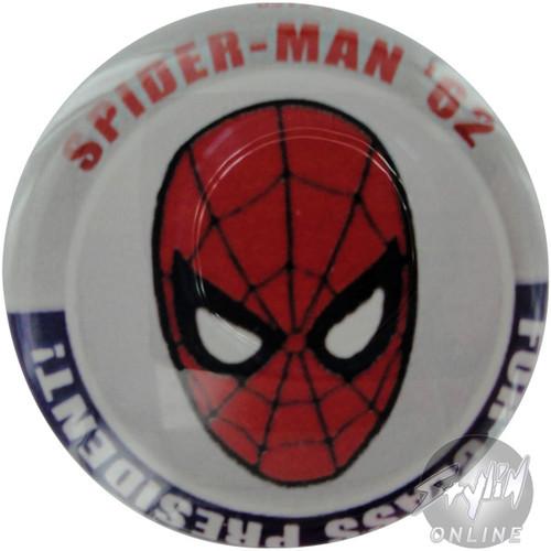 Spiderman President Button