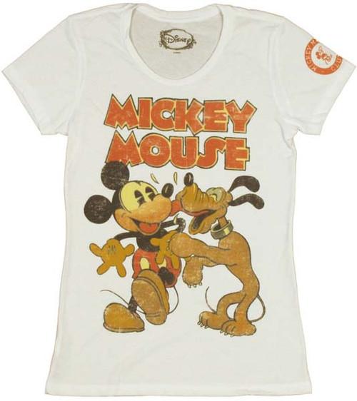 Disney Mickey Pluto Baby Tee