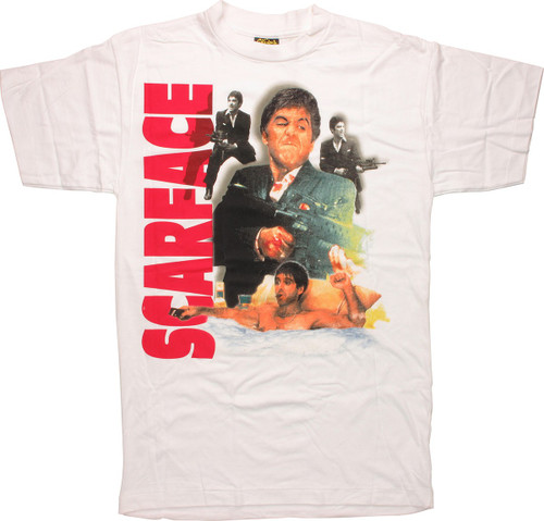 Scarface Montage T-Shirt