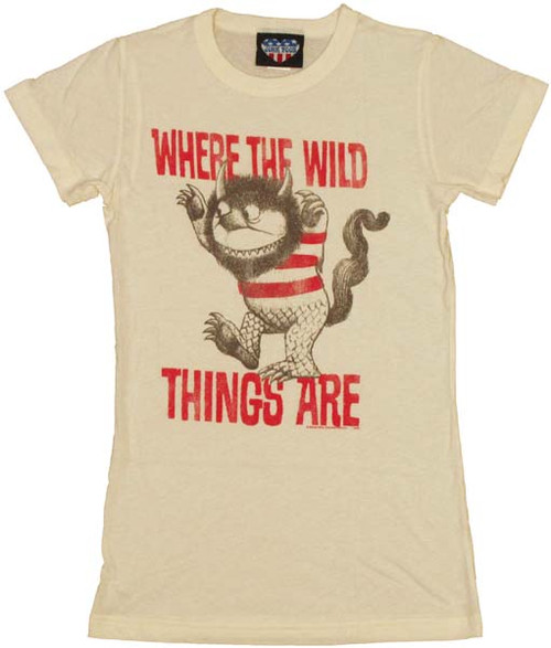 Where the Wild Things Are Stripe Baby Tee