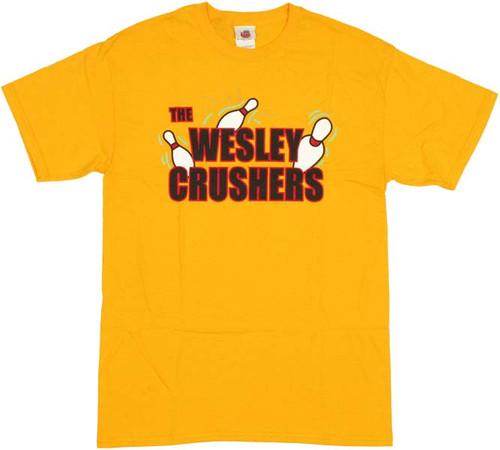 Big Bang Theory Wesley Crushers T-Shirt