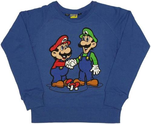 Nintendo Mario Luigi Youth Sweatshirt